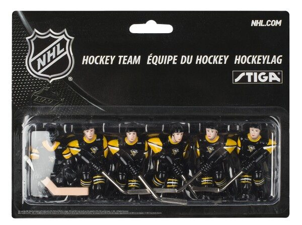 new products 37a57 8ab9d Stiga Pittsburgh Penguins Table Hockey Team - Table Hockey Shop