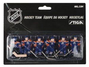 Stiga Edmonton Oilers Table Rod Hockey Players team blue