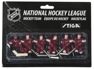 Stiga Arizona Phoenix Coyotes Table Hockey Team Players 7111-9090-35