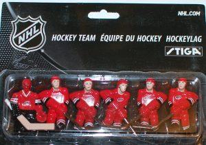 Stiga Carolina Hurricanes Table Hockey players