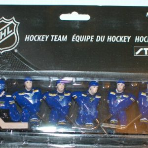 phot of the latest release of Stiga St. Louis Blues Hockey Team players