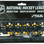 Stiga Boston Bruins Table Hockey Players 7111-9090-15