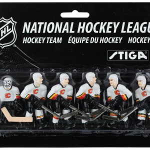 Stiga Calgary Flames Table Hockey Team Players 7111-9090-25
