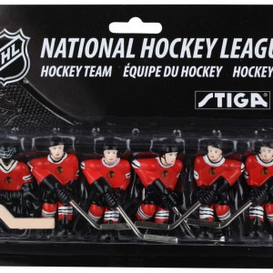 Stiga Chicago Blackhawks Table Hockey Team Players 7111-9090-32