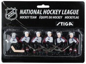 Stiga Colorado Avalanche Table Hockey Team Players 7111-9090-29