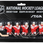 Stiga Detroit Red Wing Table Hockey Team Players 7111-9090-31