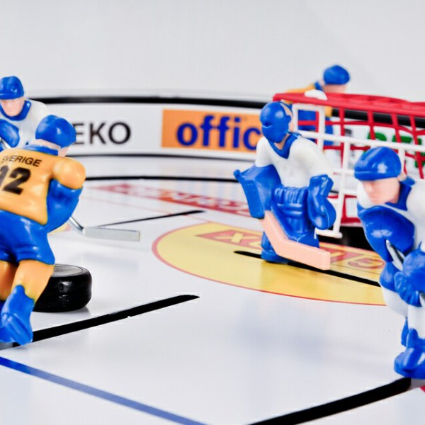 ... Stiga High Speed Table Top Rod Hockey Game Platers In Action 71 1144 20  ...