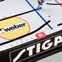 Closeup View of the Stiga High Speed Table Top Rod Hockey Game 71-1144-20