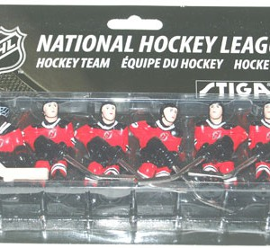 Stiga New Jersey Devils Table Hockey Players 7111-9090-11