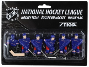 Stiga New York Rangers Table Hockey Team Players 7111-9090-12