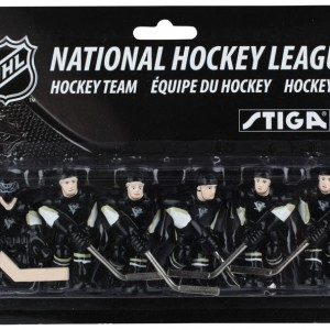 Stiga Pittsburgh Penguins Table Hockey Team Players 7111-9090-14