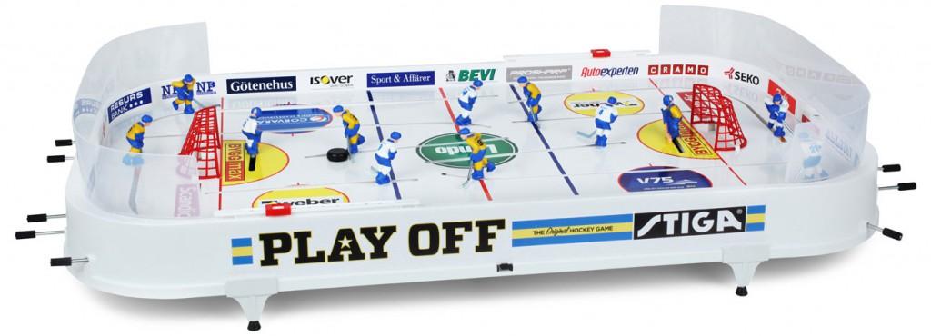 Stiga Playoff Table Top Rod Hockey Game - International Edition 71-1144-09