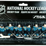 Stiga San Jose Sharks Table Hockey Team Players 7111-9090-39