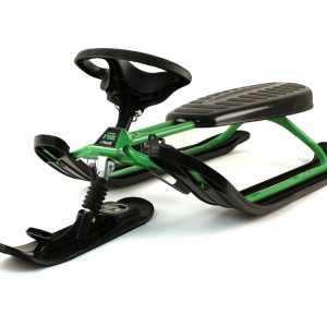 Front View of the Stiga FSR Snowracer Sled 73-4135-09