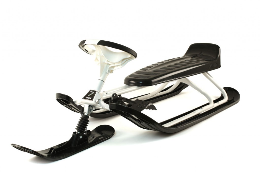 Front View of the Stiga Snow Racer King Sled 73-4679-10