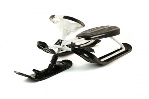 Front View of Stiga Snow Racer Supreme GT Sled 73-2511-10