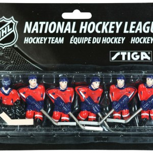 Stiga Washington Capitals Table Hockey Team Players 7111-9090-24