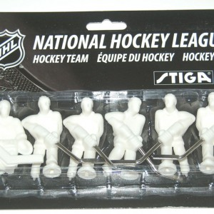 Stiga Paint Your Own White Table Hockey Team Players 7111-9090-40