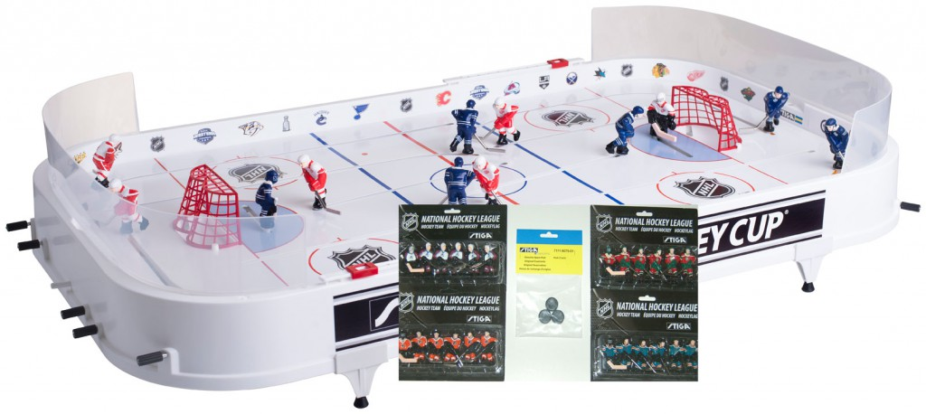 Stiga Table Top Rod Hockey Game Super Saver Package 7111-1142-SSG