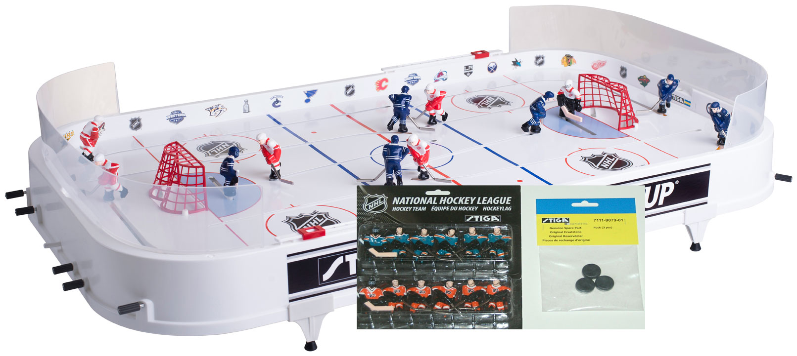 Vintage tabletop hockey games
