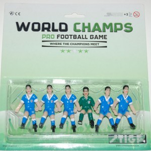 Team Italy Soccer Players for Stiga Table Football Game 7113-2001-02