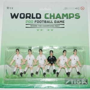 Team England Players for Stiga World Champs Table Soccer Game 7113-2001-07