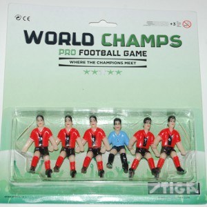 Team Germany Away Soccer football players for Stiga Table Soccer Game 7113-2001-41