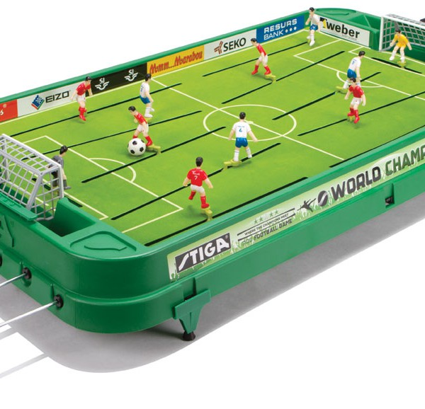 Genial Stiga World Champs Table Soccer Football Game # 71 1255 05