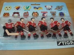 Swedish elite league table hockey players lulea team pack