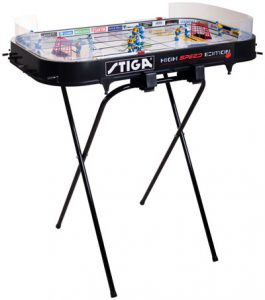 Stiga-table-hockey-game-plus-game-stand