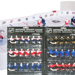 Stiga Table Rod Hockey Game - Original 6 NHL teams Version